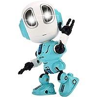 ألعاب الروبوت الناطق والمسجل للصوت للأطفال من انو تيك، ألعاب روبوت تعليمية بعيون مضاءة بمصابيح ليد وخاصية التحكم باللمس…