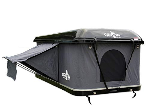 Origin Camping Supply Nomad Hard Shell Roof Top Tent for 4×4 Camping, Car Top Tent, Family Camping Tent