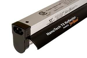 Sunblaster 904296 NanoTech T5 High Output Fixture Reflector Combo, 2-Feet