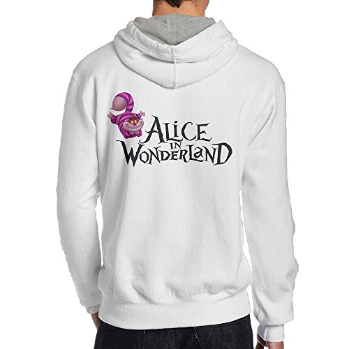 (SAMMOI Alice In Wonderland Men's Hoodies S)