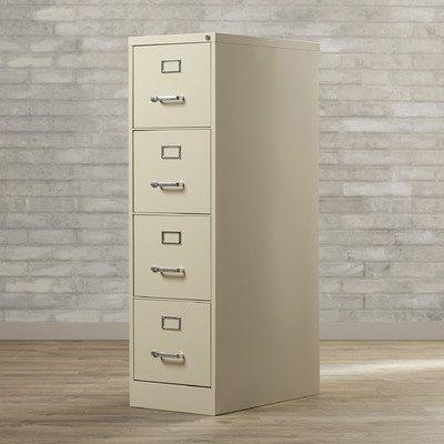 Kane 4 Drawer Commercial Letter Size File Cabinet - 52