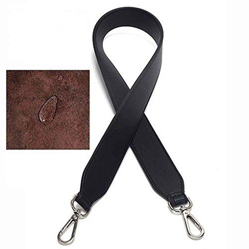 Accessori 2 Cintura fibbia in Donne per per Cinture 0cm Cinturino pelle di tracolla Regard donna Larghezza ricambio Nero Cinturino staccabile raw7tr