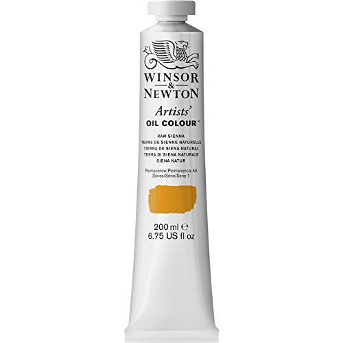 Winsor & Newton Artists' Oil Colour Paint, 200ml Tube, Raw Sienna (Renewed) ()