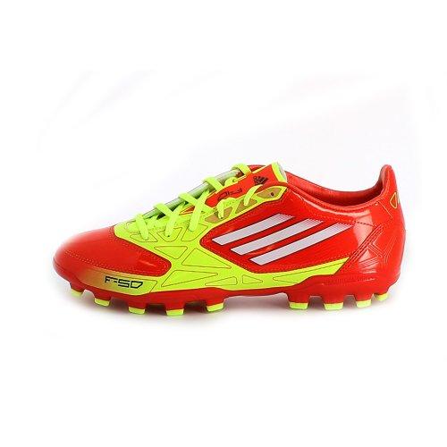 Adidas Zapatillas de Fútbol para Hombre F10 TRX AG - Naranja - Amarillo, Poliéster, EUR 46