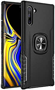 Case for Samsung Galaxy Note 10,360 Degree Rotatable Ring Stand and magnetic holder Kickstand shockproof Slim Protective back Cover Case