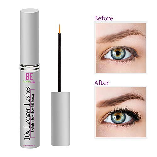 Brazilian Belle Eyelash Enhancing Growth Serum - Best Lash & Eyebrow Serum on Amazon. Professional Formula for Rapid and Safe Results. Ditch Fake Lashes for Good