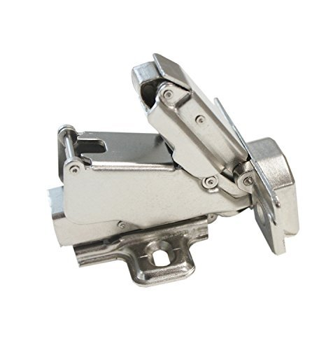 Gobrico Clip On Kitchen Cabinet Hinge 165 Degree Furniture Parts Hardware Soft Close Frameless Mounting 20 Piece by Gobrico (Image #2)