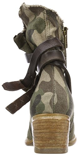 As98 Ladies Cruz Stivaletti Multicolore (militare / Tdm / Militare)