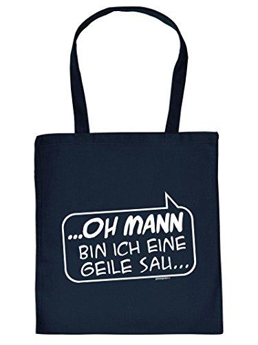 .oh Man I Am ..: Borsa Con Manico In Tote Con Impronta. Borsa Per Il Trasporto, Must-have, Borsa Di Stoffa, Idea Regalo