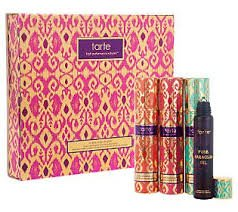 Tarte 3-piece Limited-edition Maracuja Oil Roller Ball Collector's Set to Give, to Get, to Glow Collectors Edition Roller Ball