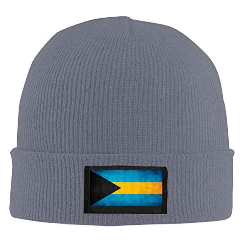 ZP-CCYF Bahamas Flag Men Women Daily Knit Hats Acrylic Warm Beanie Hats Skull Cap Winter Hats Deep Heather ()