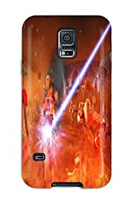Ideal DanRobertse Case Cover For Galaxy S5(star Wars Clone Wars), Protective Stylish Case