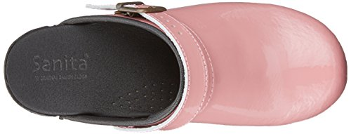 Pink Rose 65 Clogs Sanita Women's Open Freya UwqHqX0I