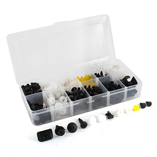 Portiè re Retainer Kit Rivet plastique 250 Pcs DealMux