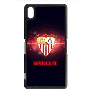 Sevilla FC Logo Cell funda Sony Xperia Z2, Sevilla FC Logo funda Cover Carcasa Funda Bumper TPU funda, funda Sony Xperia Z2 Sevilla FC Logo funda
