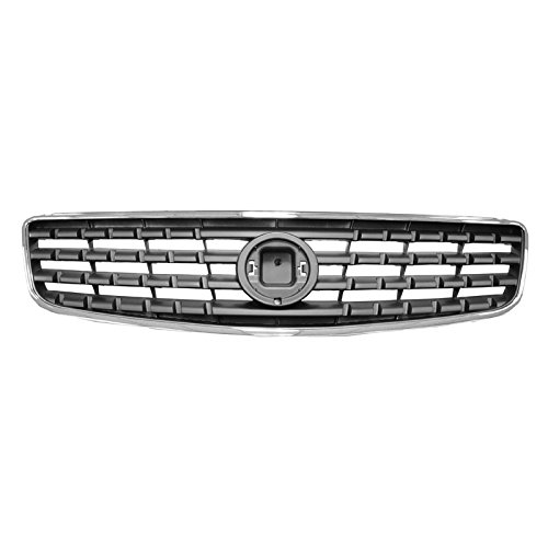 Chrome & Gray Upper Front Grille Grill 62070ZB000 For 05-06 Nissan Altima