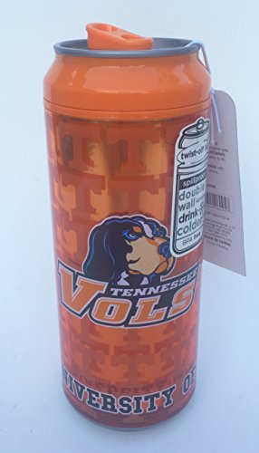 (Tennessee Volunteers Cool Gear 16 Ounce Can Insulated Travel Tumbler)
