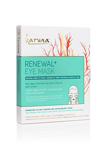Karuna Renewal+ Eye Mask Box, 4 CT ()