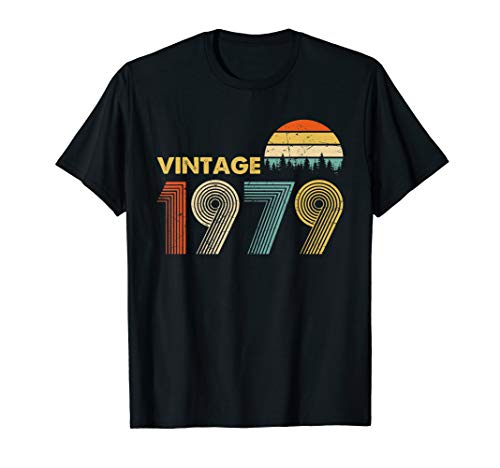 Made in 1979 T-Shirt Vintage 40th Birthday 40 years old Gift 40 Years Old T-shirt