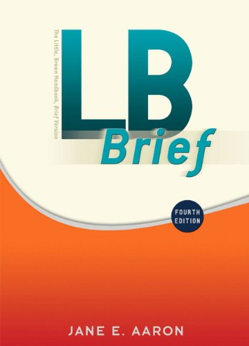 LB Brief with Tabs (4th Edition)