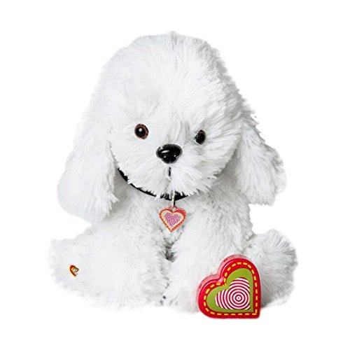 - My Baby's Heartbeat Bear Furbaby's: Bichon Stuffed Animal with 20 Second Voice Recordable Heart - Bichon