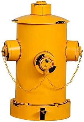 ゴミ袋 ゴミ箱用アクセサリ 鉄のペダルの不用な大箱の創造的な産業風のゴミ箱は家の棒ゴミ箱できます キッチンゴミ箱 (Color : C)