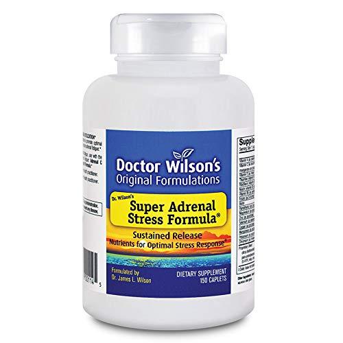 Doctor Wilson's Original Formulations Super Adrenal Stress Formula 150 caplets (Best Adrenal Support Formula)