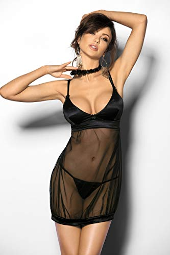 Anais Sensual Lingerie 3X-Large Black Angels Never Sin Abisara Erotic  Apparel bb2f18f87