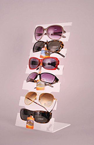 Acrylic Eyewear Sunglass Countertop Retail Display Store Fixture Lot of 10 ()