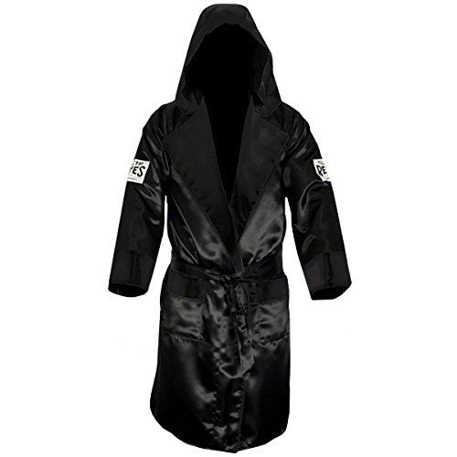 Cleto Reyes Satin Boxing Robe with Hood -