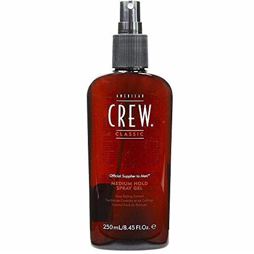 AMERICAN CREW by American Crew SPRAY GEL MEDIUM HOLD 8.45 OZ (Package of 2) (American Crew Medium Hold Spray Gel 250ml)