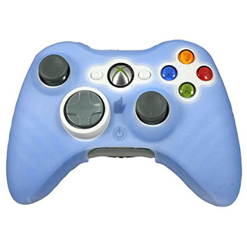 lookatool-for-xbox-360-game-controller-new-quality-silicone-skin-case-cover-blue