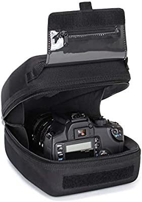 USA Gear Funda Cámara de Fotos Reflex Carcasa rígida y Estuche ...