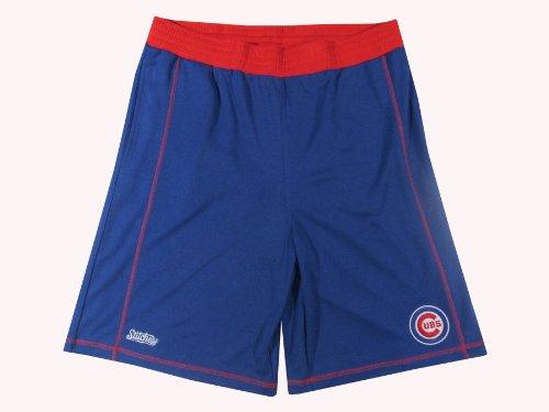 MLB Chicago Cubs Adult 2 Pocket Shorts, Royal, X-Large