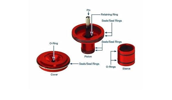 47RE 48RE 46RH Billet 4 Ring Accumulator Piston