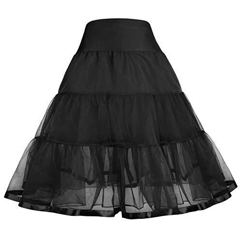 GRACE KARIN Tulle Pleated Tutu Crinoline for Little Girls 14-15Y CL035-1