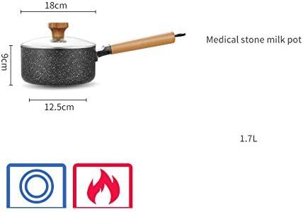 WSAD Lait De Riz Pierre Pot, Mini Hot Pot Non - Aliments pour Bébé De La Soupe,18Cm
