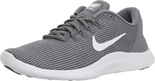 - Nike Women's Flex 2018 RN Running Shoe (6 M US, Cool Grey/Cool White)