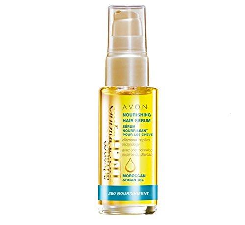 Avon Advance Techniques Moroccan Argan Oil Leave-in Treatment Bottle All Hair Types