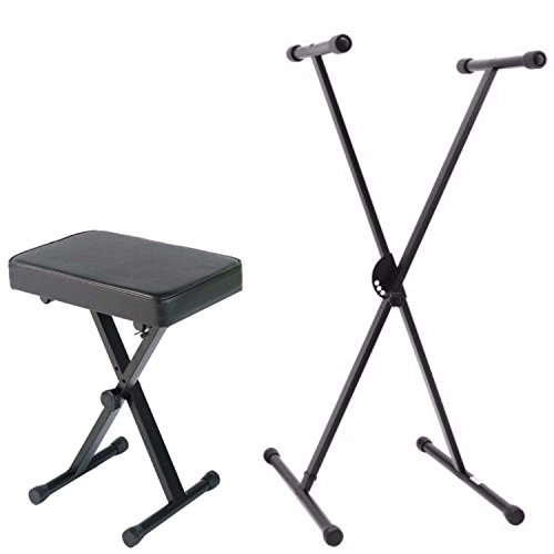 Best Review Of Yamaha Portable X Style Keyboard Bench with Single Braced Adjustable X-Style Keyboard...
