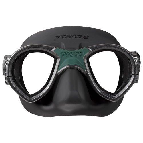Omer SPORASUB Silicone Mystic Mask, Black