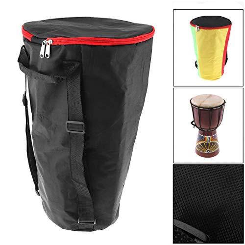 V2AMZ - 10 Inch Djembe Bag Case Thick Shockproof Waterproof Africa African Drum Bags Tambourine Shoulders Back - Djembe Package