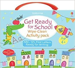 Book Get Ready for School Wipe-Clean Activity Pack
