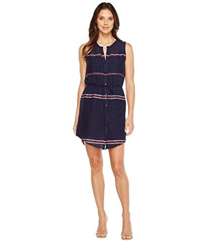 故障船員ティーム[ラッキーブランド] Lucky Brand レディース Stripe Shirtdress ドレス Navy Multi XL (US 12-14) [並行輸入品]