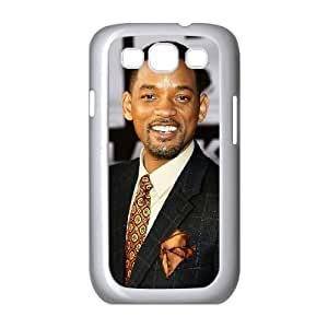 Bloomingbluerose Will Smith Samsung Galaxy S3 Cases Will Smith Hollywood's Highest Paid Black Male Actor For Men, Case For Samsung Galaxy S3 Mini For Men For Men [White]
