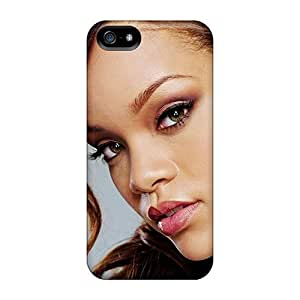 TimeaJoyce Iphone 5/5s Bumper Hard Phone Cover Support Personal Customs High Resolution Rihanna Skin [oym19367Naxv]