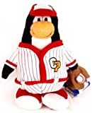 Disney Club Penguin 6.5'' Plush Baseball Player (Coin with Code Included)