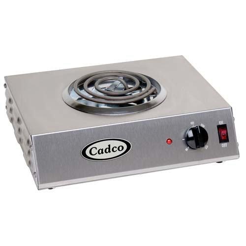 (Cadco CSR-3T Countertop Hi-Power Single 120-Volt Hot Plate)