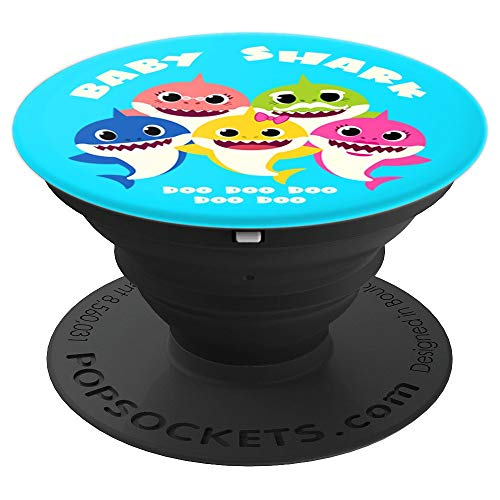 Baby Shark Family - PopSockets Grip and Stand for Phones and Tablets