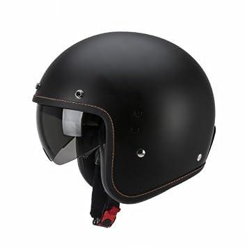 SCORPION - Cascos Moto - Scorpion Belfast Solid Negro Mate: Amazon.es: Coche y moto
